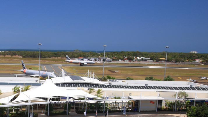 Sunshine Coast Airport sets a new October record