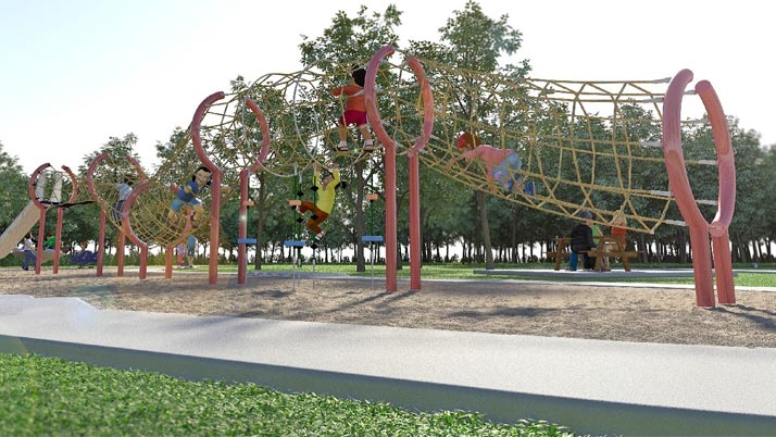 Kabi Kabi inspiration for new playground