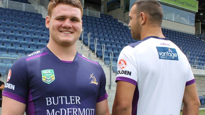 Melbourne Storm reveal jerseys for Coast-based Thunderbolts