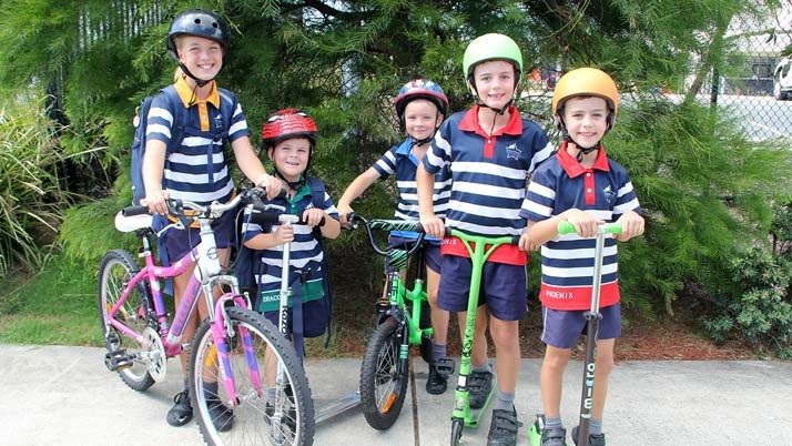 Sunshine Coast kids set Ride2School record