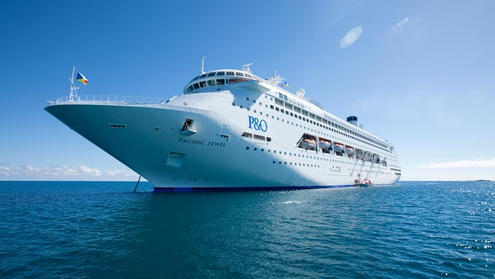 Pacific Jewel to visit the Sunshine Coast