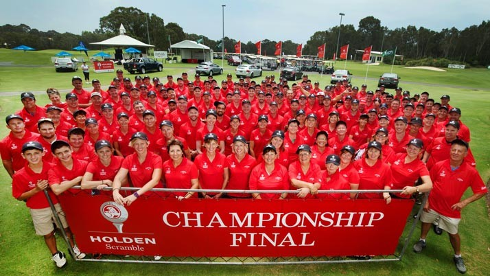 Sunshine Coast destination partner of the Holden Scramble