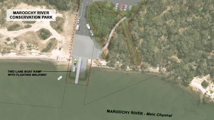 New two-lane boat ramp for Mudjimba
