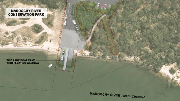 New two-lane boat ramp for Mudjimba