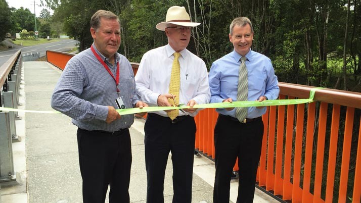 New $1.9 million Eumundi bridge complete