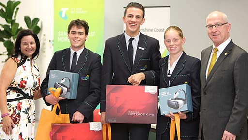 Unity College claims inaugural Mayor's Telstra Technology Awards