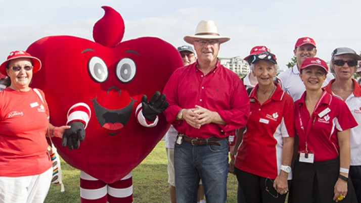 Sunshine Coast Heart Week finalist in sports awards