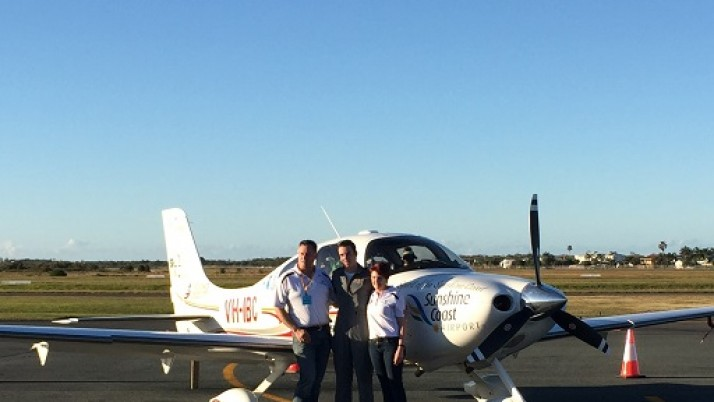 Inspiring teen pilot farewelled