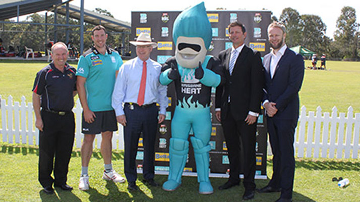 Cricket Partnership a top edge for Sunshine Coast