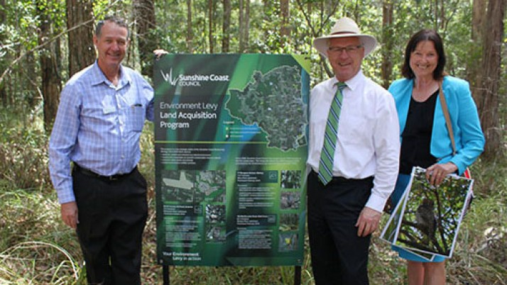 Vulnerable flora and fauna in Buderim now safe and sound