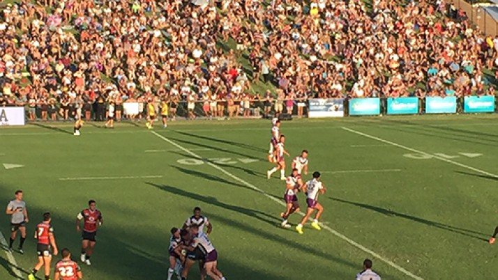 New record crowd for Sunshine Coast Stadium