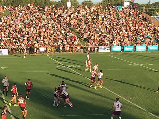 New record crowd for Sunshine Coast Stadium