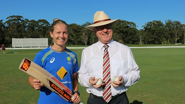 Australian Women's Cricket team prepares for World Cup on the Sunshine Coast