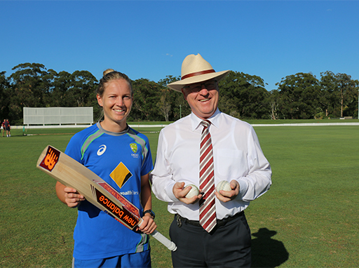 Australian Women's Cricket team prepares for World Cup on the Sunshine Coast