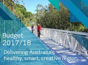 Budget delivers a healthy, smart, creative region