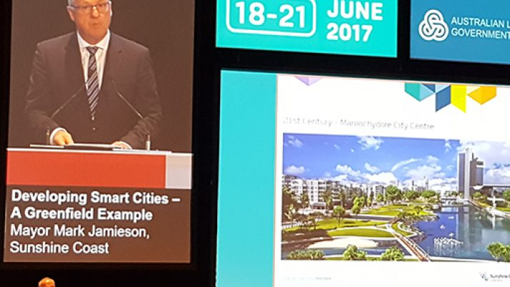 Sunshine Coast in the spotlight at meeting of Australian councils
