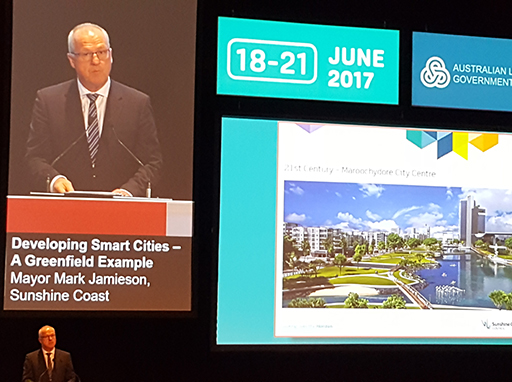 Sunshine Coast in the spotlight at meeting of Australian councils