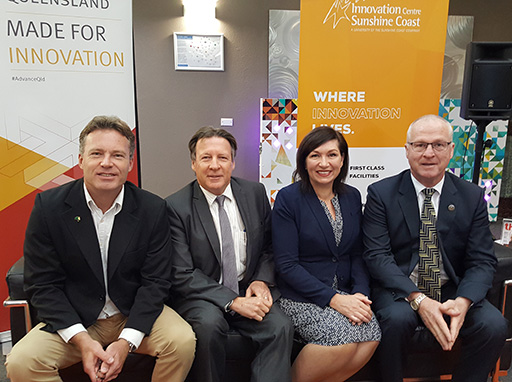 Innovation Minister announces $1M program to create ideas and jobs on Sunshine Coast
