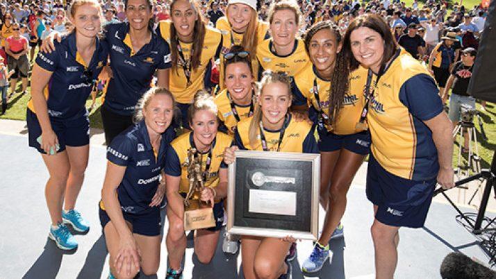 Key to the city awarded to Coast's netball champions