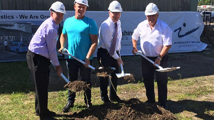 Work underway on major project for Maroochy Beach Gymnastics