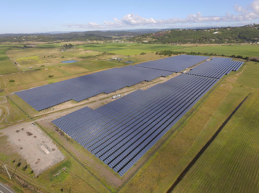 Sunshine Coast Solar Farm goes live in Australian first