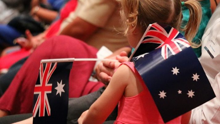 155 new citizens welcomed for Australian Citizenship Day