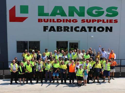 Langs Building Supplies officially opens on the Sunshine Coast