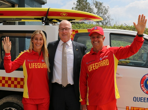 Lifeguard service to continue on our beaches