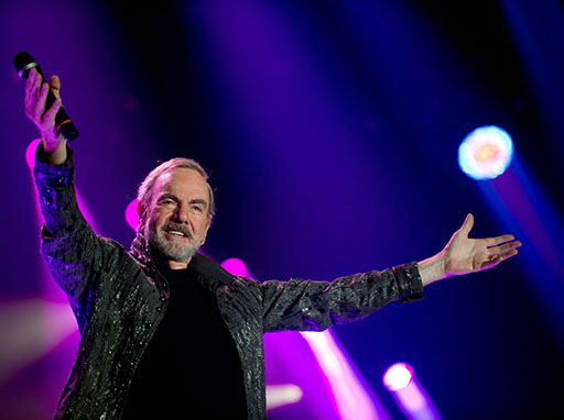 Neil Diamond to bring his world tour to Sunshine Coast Stadium