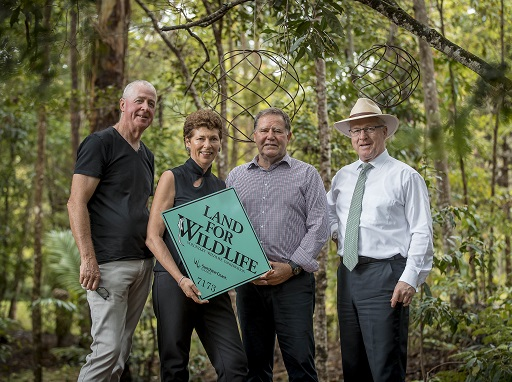 Nature lovers celebrate Sunshine Coast's 1000th Land for Wildlife partnership