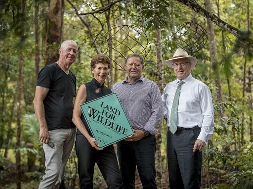 Nature lovers celebrate Sunshine Coast's 1000th Land for Wildlife partnership