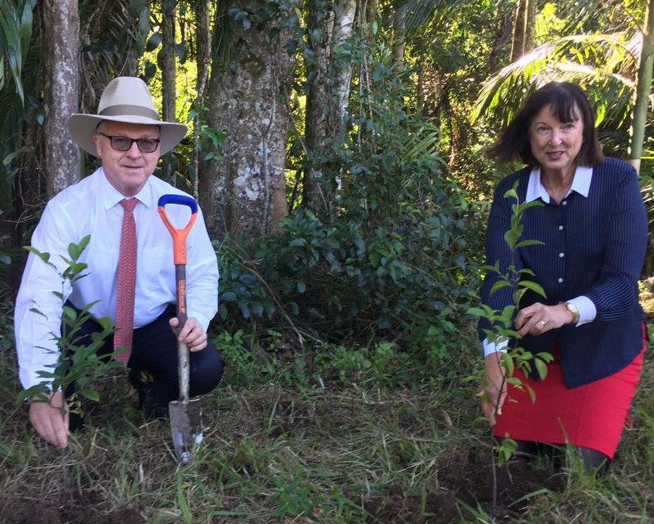 100,000th Tree Planting