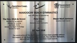 Opening of Maroochy Beach Gymnastics Centre
