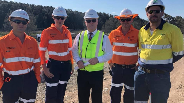 Sunshine Coast Airport Expansion Completion of Sand Dredging