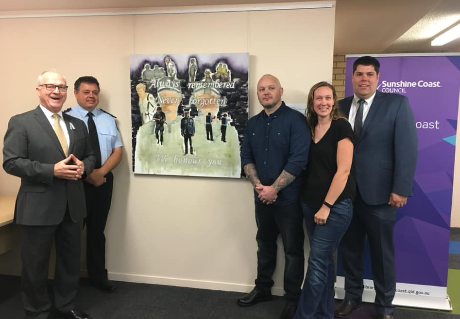 Police Remembrance Day – Unveiling of Painting