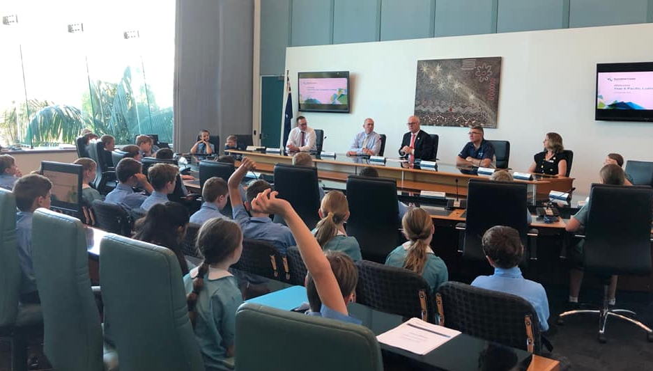 Pacific Lutheran College Yr6 Visit to Council Chambers