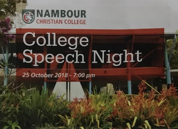 Nambour Christian College Speech Night
