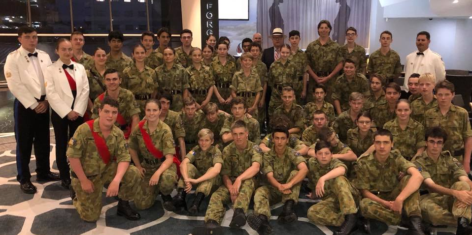 Meeting the 128 Yandina Army Cadet Unit
