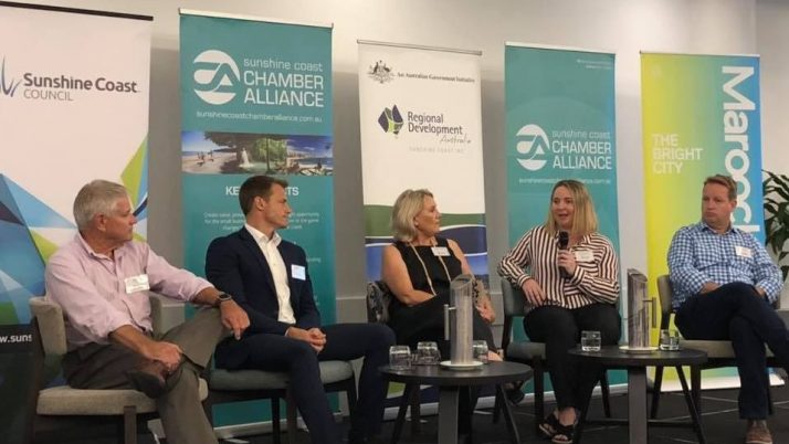 Sunshine Coast Chamber of Commerce Business Breakfast