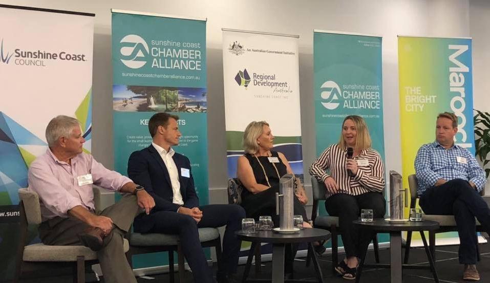 Sunshine Coast Chamber of Commerce Business Breakfast