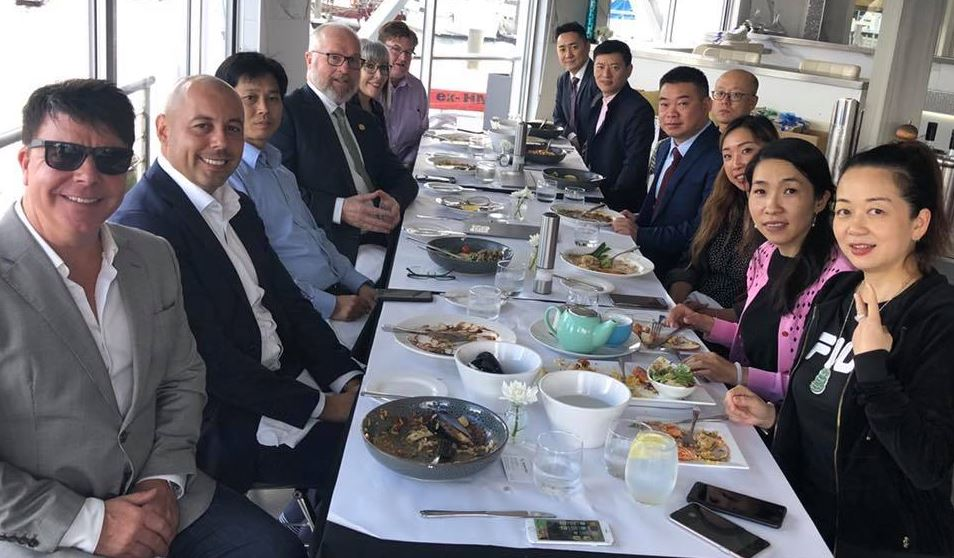 Lunch with Chinese & Australian Business Leaders