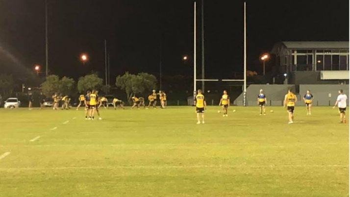 Sunshine Coast Falcons Training Session