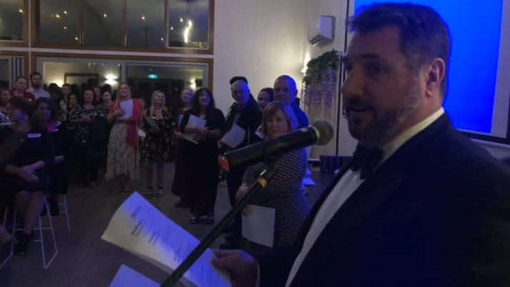 """Andrew Powell MP   The Glass House Mountains Business Awards – """"Glassies"""""""
