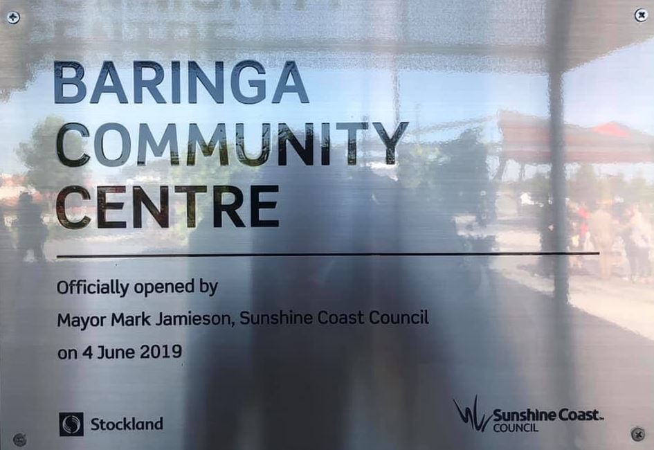Official Opening of Baringa Community Centre