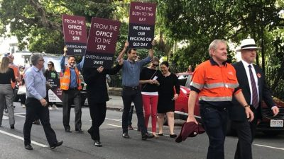 Queenslanders Unite Rally