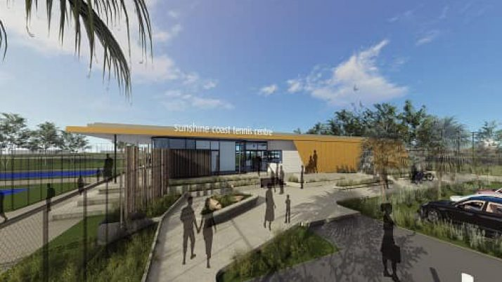 Sunshine Coast Tennis Centre Upgrade, Caloundra