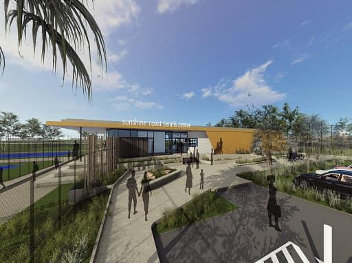 Sunshine Coast Tennis Centre Upgrade, Caloundra