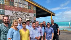 LGAQ Policy Executive Meeting on Thursday Island
