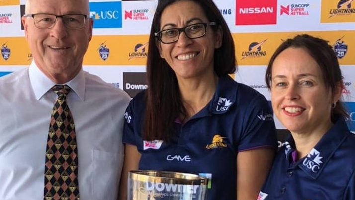 Sunshine Coast Lightning Head Coach – Noeline Taurua