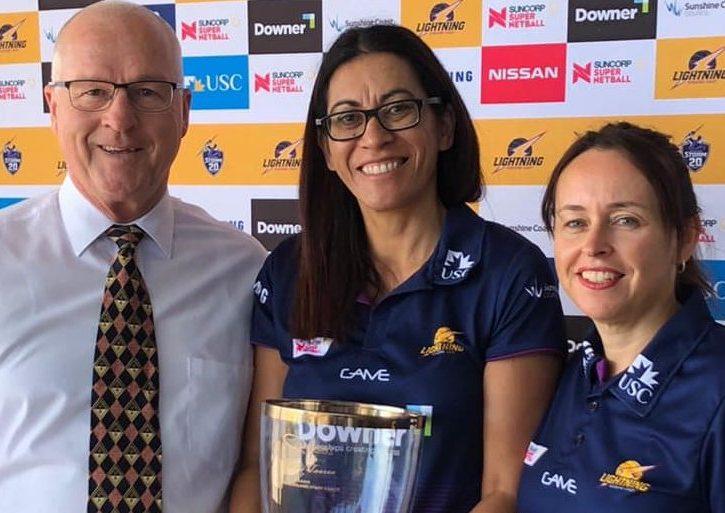 Sunshine Coast Lightning Head Coach – Noeline Taurua